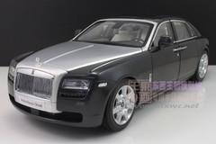 1/18 Kyosho Rolls-Royce Ghost (Black/Silver)