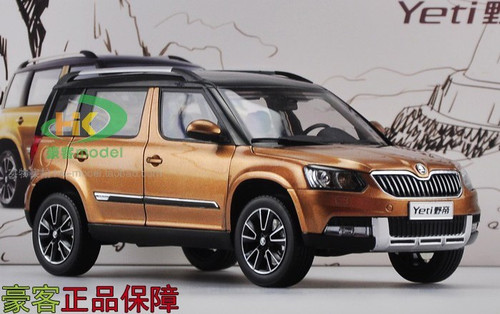 1 18 skoda yeti golden brown. Black Bedroom Furniture Sets. Home Design Ideas