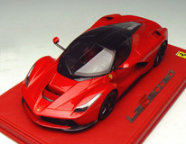 1/18 BBR Ferrari LaFerrari (Red w/ Black Roof) Limited 50