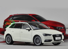 1/18 AUDI A3 SPORTBACK (WHITE) DIECAST CAR MODEL
