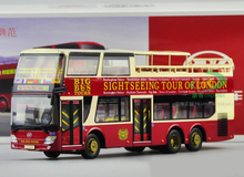 1/43 AK LONDON BIG BUS TOURS DIECAST MODEL (HARDTOP VERSION)