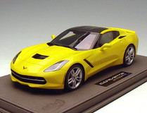BBR HANDMADE 1/18 CORVETTE STINGRAY (YELLOW) RESIN MODEL! LIMITED 10