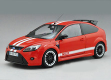 MINICHAMPS 1/18 FORD FOCUS RS 500 LE MANS CLASSIC EDITION (RED)