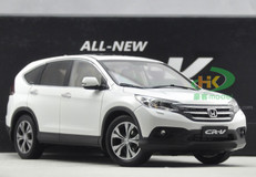 1/18 HONDA CR-V CRV (WHITE) DIECAST CAR MODEL