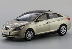 1/18 HYUNDAI SONATA (GOLD/CHAMPAGNE) DIECAST CAR MODEL