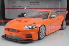 1/18 MINICHAMPS JAGUAR XKR GT3 (ORANGE) DIECAST CAR MODEL
