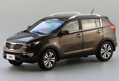 1/18 KIA SPORTAGE (BROWN) DIECAST CAR MODEL