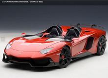 AUTOART 1/18 LAMBORGHINI AVENTADOR J METALLIC RED CAR MODEL