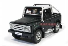 1/18 LAND ROVER SVX SUV (BLACK) DIECAST CAR MODEL