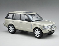 1/18 LAND ROVER RANGE ROVER GOLDEN DIECAST CAR MODEL
