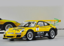 1/18 PORSCHE 911 GT3 CUP (YELLOW) DIECAST CAR MODEL