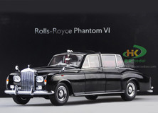 1/18 1967 ROLLS-ROYCE PHANTOM VI CONVERTIBLE (BLACK) Diecast Car Model