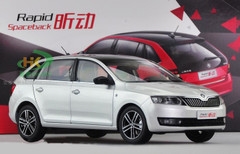 1/18 SKODA RAPID SPACEBACK (SILVER GREY) CAR MODEL