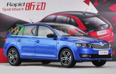 1/18 SKODA RAPID SPACEBACK (BLUE) CAR MODEL