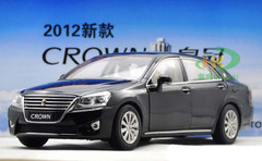 1/18 TOYOTA CROWN (BLACK) DIECAST CAR MODEL