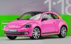 1/18 VOLKSWAGEN VW BEETLE (PINK) DIECAST CAR MODEL