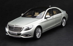 1/18 MERCEDES-BENZ S-CLASS S-KLASSE W222 (SILVER) CAR MODEL!