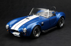 KYOSHO 1/18 FORD MUSTANG SHELBY COBRA 427 S/C (BLUE) MODEL!