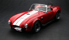 KYOSHO 1/18 FORD MUSTANG SHELBY COBRA 427 S/C (RED) MODEL!