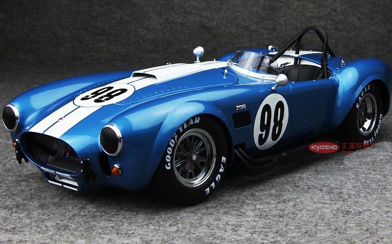kyosho  ford mustang shelby cobra  sc  blue model livecarmodelcom