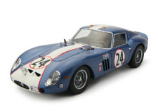 1/18 KYOSHO FERRARI 250GTO (BLUE) DIECAST CAR MODEL!