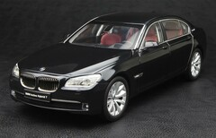 KYOSHO 1/18 BMW ActiveHybrid 7 (BLACK) DIECAST CAR MODEL!