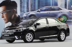 1/18 TOYOTA Corolla (Black) DIECAST CAR MODEL