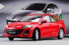DEALER EDITION 1/18 MAZDA 3 (RED) DIECAST CAR MODEL
