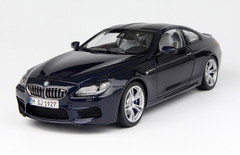 1/18 Paragon BMW M6 (F13) Coupe Hardtop (Dark Blue)