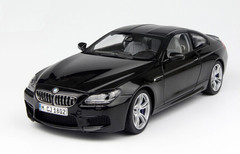 1/18 Paragon BMW M6 (F13) Coupe Hardtop (Cyan/Dark Blue Black)