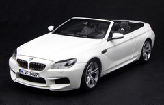 1/18 Paragon BMW M6 (F13) Coupe Convertible (White)