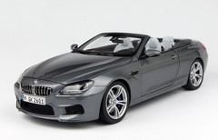 1/18 Paragon BMW M6 (F13) Coupe Convertible (Grey)