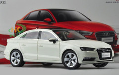 1/18 Dealer Edition AUDI A3 Sedan (WHITE) DIECAST CAR MODEL