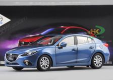 RARE 1/18 2015 MAZDA 3 (Blue) DIECAST CAR MODEL