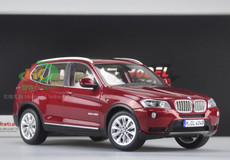 1/18 BMW X3 (Dark Red)