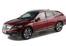 1/18 Dealer Edition Honda Crosstour (Red) w/ Wooden Display Base