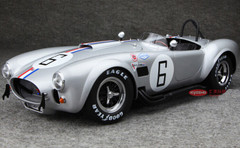 KYOSHO 1/12 FORD MUSTANG SHELBY COBRA 427 S/C NO.6 (SILVER)