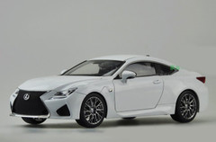 RARE 1/18 Dealer Edition Lexus RC F RCF (White)