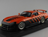 "1/18 AUTOart DODGE VIPER COMPETITION COUPE""GO MAN GO""(ORANGE) (LIMITED EDITION 3000PCS WORLDWIDE)"