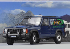 1/18 Dealer Edition Classic Jeep Cherokee (Blue)