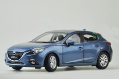1/18 Dealer Edition Mazda 3 Hatchback (Blue)