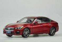 RARE 1/18 Dealer Edition Infiniti Q50S (Red)