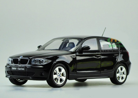 1 18 kyosho bmw 120i black. Black Bedroom Furniture Sets. Home Design Ideas