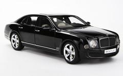 1/18 Kyosho Bentley Mulsanne (Black)