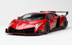 1/18 Kyosho Lamborghini Veneno (Red w/ Red Line)