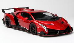 1/18 Kyosho Lamborghini Veneno (Red)