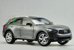1/18 INFINITI QX70 / FX50 (GREY) DIECAST CAR MODEL