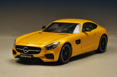RARE 1/18 Dealer Edition Mercedes-Benz Mercedes AMG GT S GTS (Yellow)