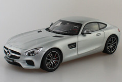 RARE 1/18 Dealer Edition Mercedes-Benz Mercedes AMG GT S GTS (Silver)