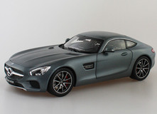 RARE 1/18 Dealer Edition Mercedes-Benz Mercedes AMG GT S GTS (Grey)